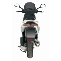 ESCAPE GILERA RUNNER 200 03 04 MIVV GP STEEL BLACK
