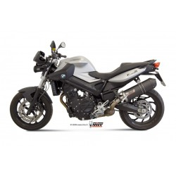 ESCAPE BMW F 800 R 09 10 11 12 13 14 MIVV OVAL CARBONO