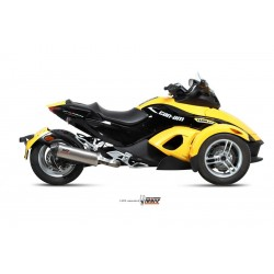 ESCAPE CAN-AM SPYDER RS 08 09 10 11 12 13 14 MIVV OVAL CARBONO