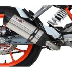 ESCAPE LINEA COMPLETA KTM RC 390 2014/2015 MIVV SUONO INOX.