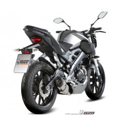 ESCAPES YAMAHA MT-125 15 16 MIVV SOUNO INOX.COPA CARBONO