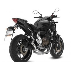 ESCAPE YAMAHA MT-07 14 15 16 MIVV SPEED EDGE INOX. POSICION STANDAR