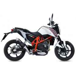 ESCAPE KTM DUKE 690 12 13 14 15 MIVV GP STEEL BLACK