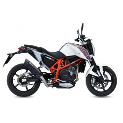 ESCAPE KTM DUKE 690 12 13 14 15 MIVV SUONO STEEL BLACK