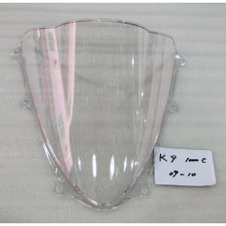 CUPULA DOBLE BURBUJA TRANSPARENTE SUZUKI GSX-R 1000 09 10
