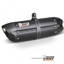 ESCAPE HONDA CBR 500 R 13 14 15 16 MIVV SUONO STEEL BLACK