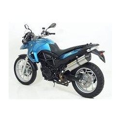 ESCAPE BMW F 650 GS 08 09 10 ARROW MAXI RACE-TECH ALUMINIO