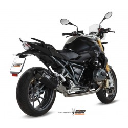 ESCAPE BMW R 1200 R 15 16 MIVV SPEED EDGE STEEL BLACK