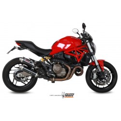 ESCAPE DUCATI MONSTER 821 15 16 MIVV SUONO INOX.
