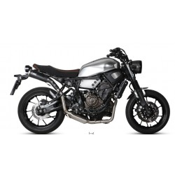ESCAPE YAMAHA XSR 700 16 17 MIVV OVAL CARBONO