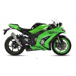 ESCAPE KAWASAKI ZX10-R 11 12 13 14 15 MIVV SPEED EDGE INOX.