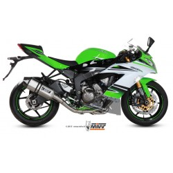 ESCAPE KAWASAKI ZX6-R / 636 09 10 11 12 13 14 15 16 MIVV SPEED EGCE INOX
