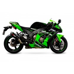 ESCAPE KAWASAKI ZX 10-R 16 17 18 SCORPION SERKET CONICO CARBONO