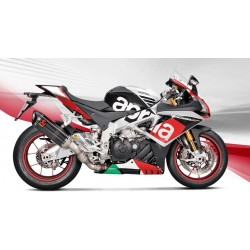 ESCAPE APRILIA RSV4 15 16 AKRAPOVIC SLIP ON CARBONO