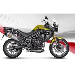 ESCAPE TRIUMPH TIGER 800 XC XR XRx XCx 15 16 17 18 AKRAPOVIC SLIP ON TITANIO