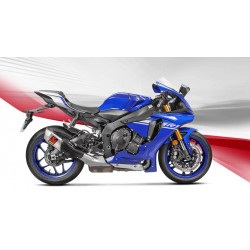 ESCAPE YAMAHA YZF R1 15 16 17 18 AKRAPOVIC SLIP ON TITANIO