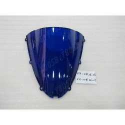 CUPULA DOBLE BURBUJA AZUL KAWASAKI ZX-10 R 04 05