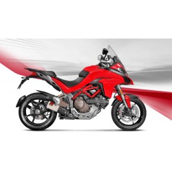 ESCAPE DUCATI MULTISTRADA 1200/ 1200 S  15 16 17 AKRAPOVIC SLIP ON TITANIO