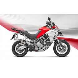 ESCAPE DUCATI MULTISTRADA 1200 ENDURO/ 900  17 18 AKRAPOVIC SLIP ON LINE TITANIO