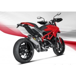 ESCAPE DUCATI HYPERMOTARD/ HYPERSTRADA 821  14 15 AKRAPOVIC SLIP ON LINE TITANIO