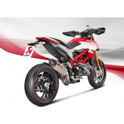 ESCAPE DUCATI HYPERMOTARD/ HYPERSTRADA 939  16 17 18 AKRAPOVIC SLIP ON LINE TITANIO