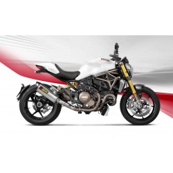 ESCAPE DUCATI MONSTER 1200/ S 14 15 16 AKRAPOVIC SLIP ON LINE TITANIO NEGRO