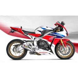 ESCAPE HONDA CBR 1000 RR 14 15 16 AKRAPOVIC SLIP ON TITANIO *NO HOMOLOGADO