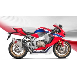 ESCAPE HONDA CBR 1000 RR ABS 17 18 AKRAPOVIC SLIP ON TITANIO