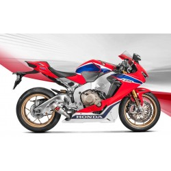 ESCAPE HONDA CBR 1000 RR ABS 17 18 AKRAPOVIC SLIP ON GP TITANIO *NO HOMOLOGADO