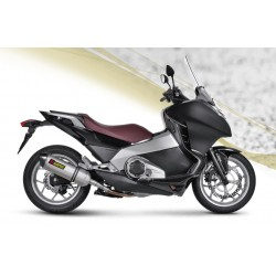 ESCAPE HONDA NC 700/ 750 X/ S 12 13 14 15 AKRAPOVIC SLIP ON TITANIO