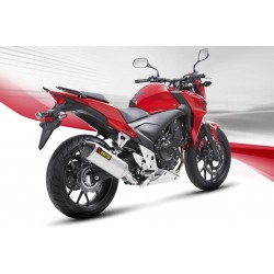 ESCAPE HONDA CB 500 F/X  13 14 15 16 AKRAPOVIC SLIP ON INOX.