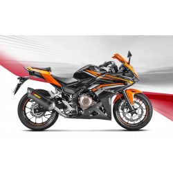 ESCAPE HONDA CB 500 F  16 17 18 AKRAPOVIC SLIP ON CARBONO