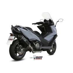 LINEA COMPLETA ESCAPE KYMCO AK 550 17 18 MIVV SPEED EDGE BLACK