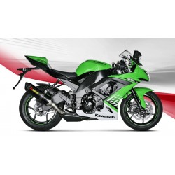 KAWASAKI ZX-10R 08 09 10 ESCAPE AKRAPOVIC SLIP- ON LINE CARBONO