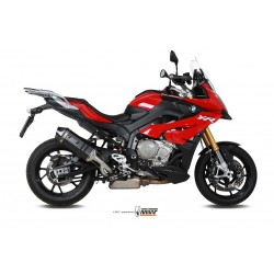 ESCAPE BMW S 1000 XR 15 16 17 18 MIVV SPEED EDGE BLACK SALIDA ALTA