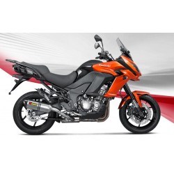 KAWASAKI VERSYS 1000 16 17 18 ESCAPE AKRAPOVIC SLIP- ON LINE TITANIO