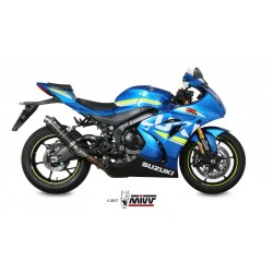 ESCAPE SUZUKI GSX-R 1000 17 18 19 MIVV GP CARBONO
