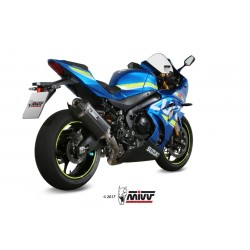 ESCAPE SUZUKI GSX-R 1000 17 18 19 MIVV SPEED EDGE BLACK