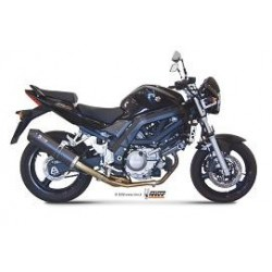 ESCAPE SUZUKI SV 650 05 06 07 08 09 MIVV OVAL CARBONO