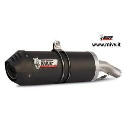 ESCAPES DUCATI MONSTER 620/800/1000/S4 01 02 03 04 MIVV OVAL CARBONO ALTO