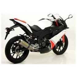 ESCAPE KTM DERBI 125 4T 4V 2010 ARROW STREET-THUNDER TITANIO