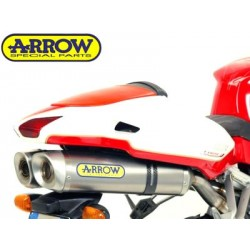 ESCAPES MV AGUSTA F4 1000 04 05 06 07 ARROW STREET THUNDER TITANIO