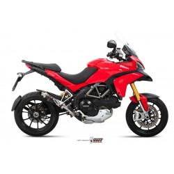 ESCAPE + SUPRESOR DUCATI MULTISTRADA 1200 10/11 MIVV GP CARBONO