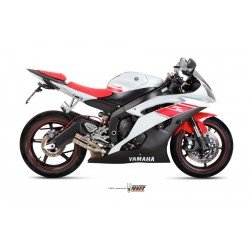ESCAPE YAMAHA YZF R6R 06 07 08 09 10 11 MIVV DOUBLE GUN