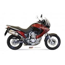 ESCAPE HONDA XLV 700 TRANSALP 08 09 10 11 MIVV SUONO INOX
