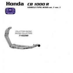COLECTORES COMPLETOS HONDA CB 1000 R 08 09 10 11 ARROW
