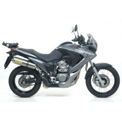 TUBO ESCAPE HONDA XL 700 V transalp 08 09 10 11 ARROW RACE TECH TITANIO
