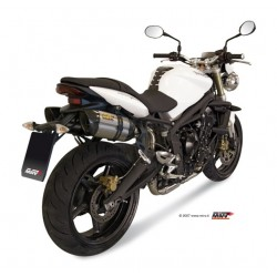 ESCAPES TRIUMPH STREET TRIPLE 675 07 08 09 10 11 MIVV SUONO INOX