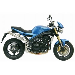 ESCAPES TRIUMPH SPEED TRIPLE 1050 05 06 MIVV X-CONE ALTO