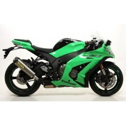 ESCAPE KAWASAKI ZX10R 2011 2012 ARROW WORKS TITANIO/CARB